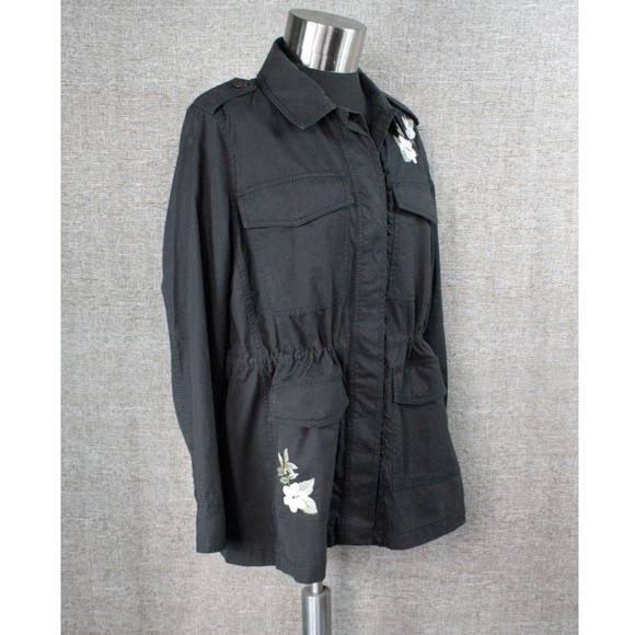 kate spade Jackets & Blazers - NEW! KATE SPADE FLORAL ANORAK JACKET!